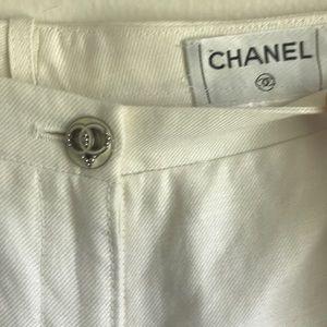 NWT Wide Leg Chanel Pants